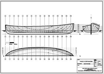 Feluca for Piano di costruzione online